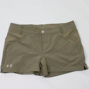 Under Armour khaki stretch casual walking shorts